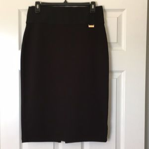 New Calvin Klein size S washable black skirt.
